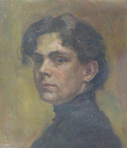 Dora Koch-Stetter Selbstbildnis