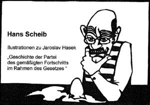 Scherenschnitt von Hans Scheib