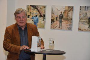 Eckhardt Barthel bei der Ausstellungseröffnung von camera D. Foto: Ulrich Horb
