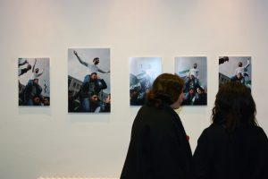 Ausstellung von camera D.