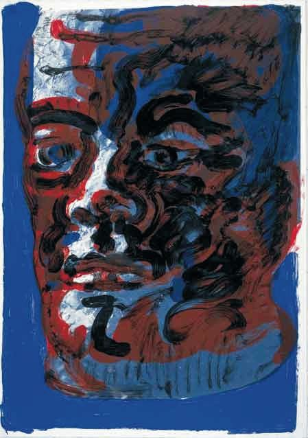 Rainer Fetting Willy Brandt